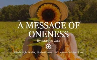A MESSAGE OF ONENESS