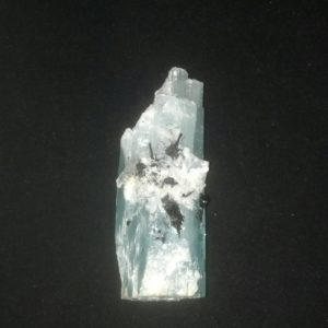 Aquamarine with Black Tourmaline